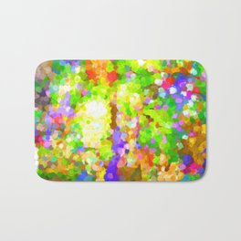 A Sparkling Delight In The World Of Color Bath Mat