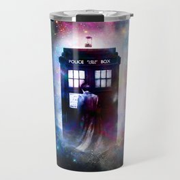 tardis nebula Travel Mug