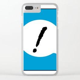 ! B Clear iPhone Case