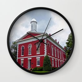 Iron County Courthouse in Ironton, Missouri Wall Clock