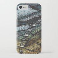 ferris wheel iPhone & iPod Cases featuring Ferris Wheel by Juliana Caju