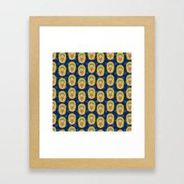 LaVirgencita Framed Art Print