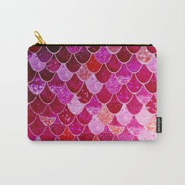 PINK  MERMAID Carry-All Pouch