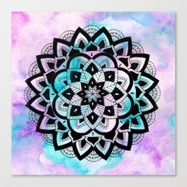 Twilight Mandala Canvas Print