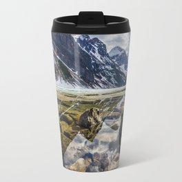 Mirroring Lake Louise Travel Mug
