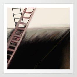 Ladders of Life Art Print