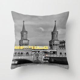 Berlin Oberbaumbruecke Throw Pillow