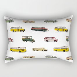 Drive my bus Rectangular Pillow