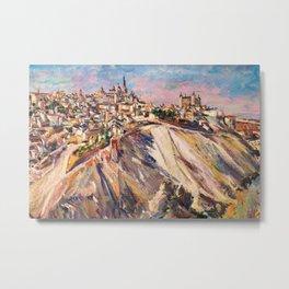 Toledo, Spain by David Bomberg Metal Print
