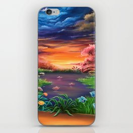 On the other side iPhone Skin