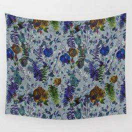 Bleu Foliage Wall Tapestry