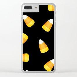 Candy Corn Clear iPhone Case