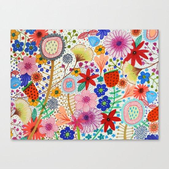 fleur-moi Canvas Print