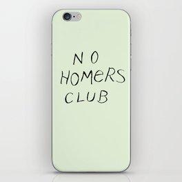 No Homers Club iPhone Skin