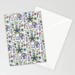 Ernst Haeckel Rainbow Diatoms Stationery Cards