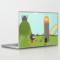 princess Laptop & iPad Skins featuring princess by Sucoco