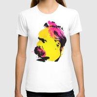 nietzsche T-shirts featuring Friedrich Wilhelm Nietzsche by DIVIDUS