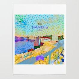 FAUVISTa Sailboats Poster
