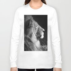 Pretty Kitty in Black & White Long Sleeve T-shirt