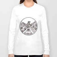agents of shield Long Sleeve T-shirts featuring SHIELD by Ruth Ms