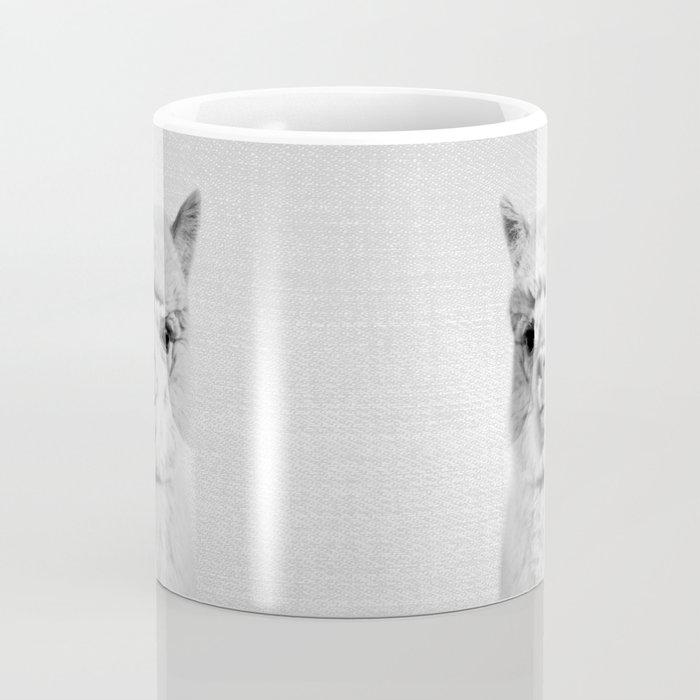 Alpaca - Black & White Coffee Mug
