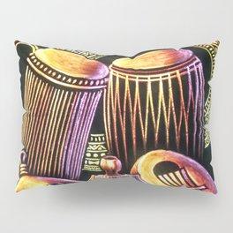African Musical Instrument Collection Pillow Sham