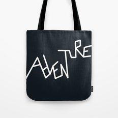 B&W Adventure Tote Bag