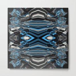 Blue Gel 3 Metal Print