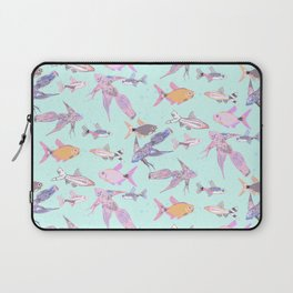 Pretty patterned fish Laptop Sleeve