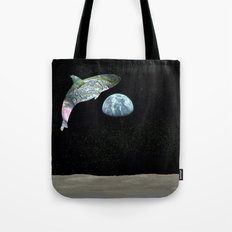 Abalone Whale Tote Bag