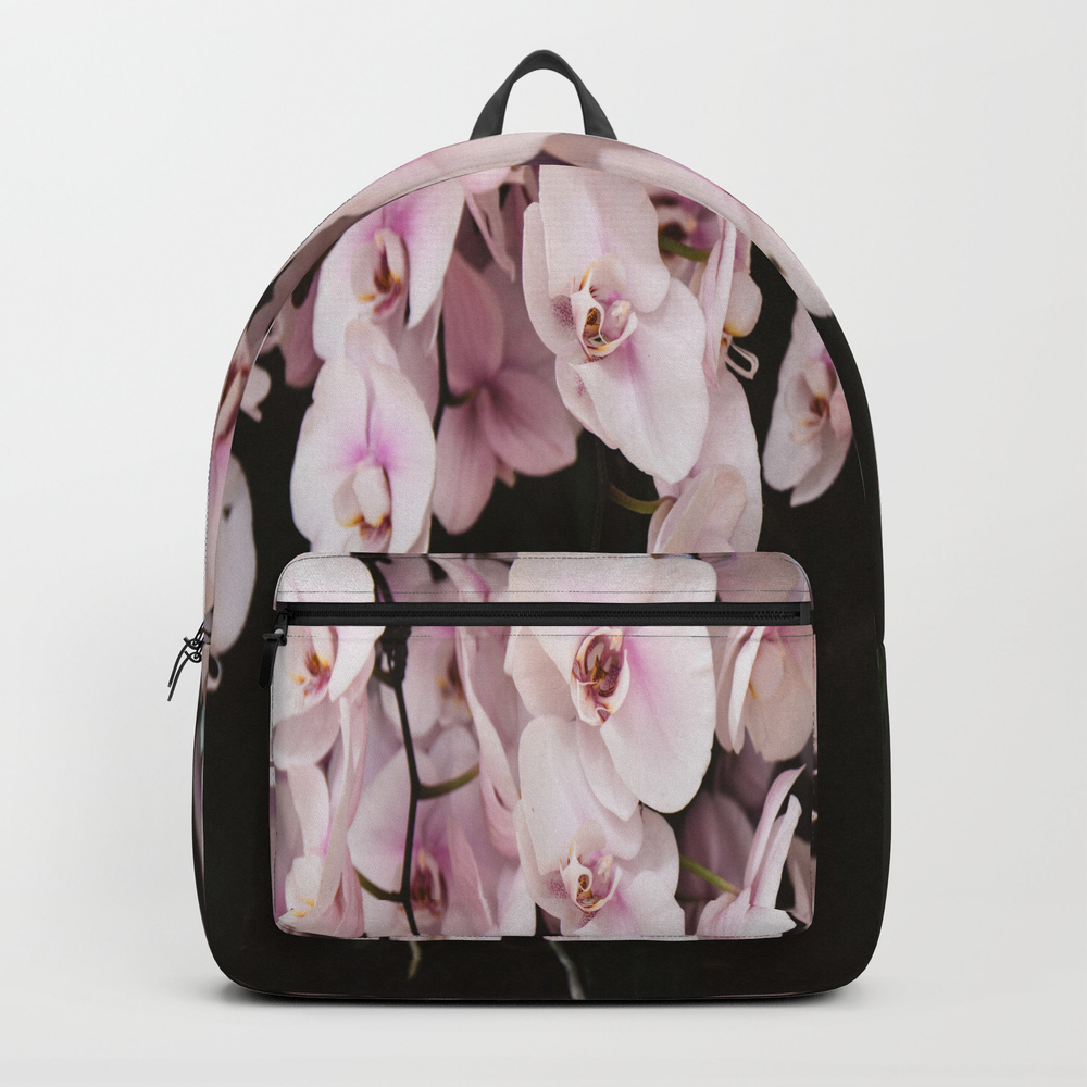 Orchids In Hong Kong Backpack by Jillianvanzytveld BKP8410306