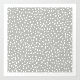 Painted Dots Art Prints For Any Decor Style Society6