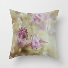 Pale Beauties Throw Pillow