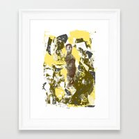 south africa Framed Art Prints featuring Africa by [Oxz]