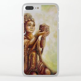 """""""The Offering of the Six Devas - Ointment"""" Clear iPhone Case"""