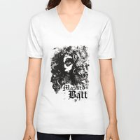 dragon ball V-neck T-shirts featuring BALL by TOO MANY GRAPHIX