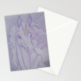 Unicorn Oracle 1: Lavender Stationery Cards