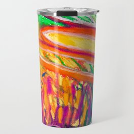 Sunsetting behind the Thicket Travel Mug