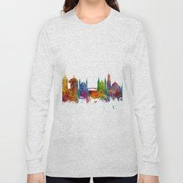 Ljubljana Solvenia Skyline Long Sleeve T-shirt