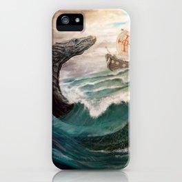 Sea Serpent iPhone Case