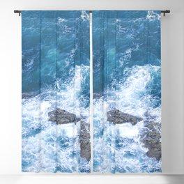 Splashing waves Blackout Curtain