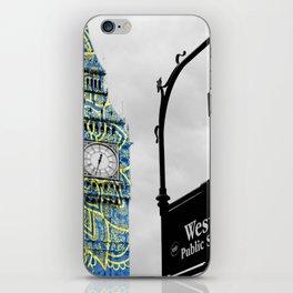 Funky Landmark - London iPhone Skin