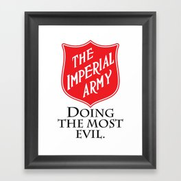 The Imperial Army Framed Art Print