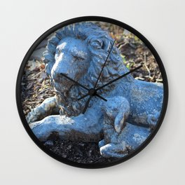 Lion and the Lamb Wall Clock
