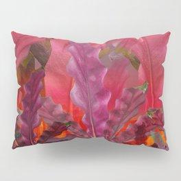 """Pink Scifi Tropical Jungle"" Pillow Sham"