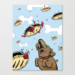 Pie in the Sky Canvas Print