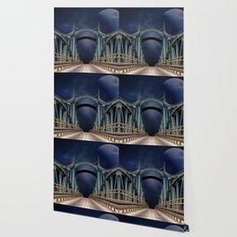 bridge mars space planet Wallpaper