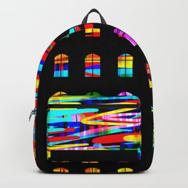 A night of color Backpack
