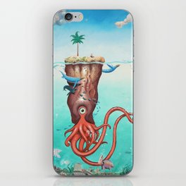 The Island iPhone Skin