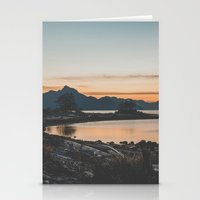 furry Stationery Cards featuring Furry Creek  by Luke Gram